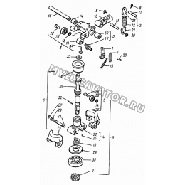 Регулятор топливного насоса ВТЗ Д-120