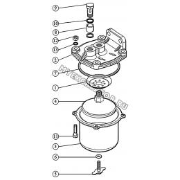 Фильтр топливный грубой очистки ММЗ 3LD