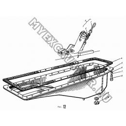 Крышка картера нижняя АМЗ А-01