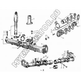 Выпускная система АМЗ А-01