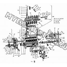 Насос топливный АМЗ А-01