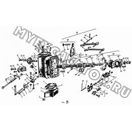 Регулятор топливного насоса АМЗ А-01