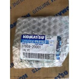 Клапан натяжителя цепи Komatsu 07959-20001 (07959-20000)